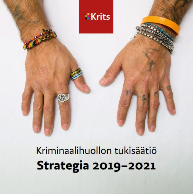 Strategiaesitteen kansi